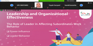 Talkshow Effects of Leader and Worker Relationships, 4 Desember 2020